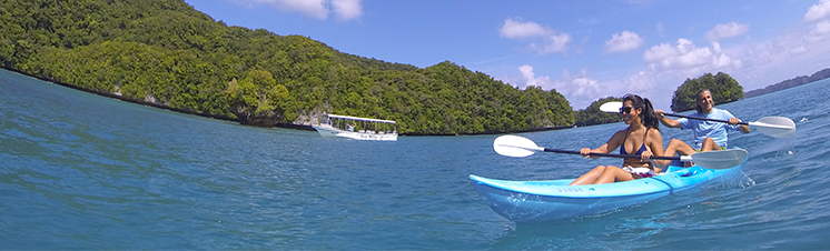 luxury scuba diving and exploring in Palau - NECO MARINE - PALAU